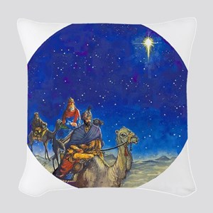 NU Magi Ornament [Circle Aug]  Woven Throw Pillow
